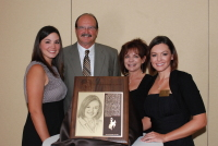 WYO Hall of Fame with Family